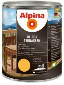 Aliejus ALPINA Aqua Terrasse, 0,75 l