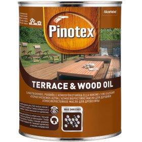 Aliejus medienai PINOTEX TERRACE&WOOD OIL, 1 l, bespalvis