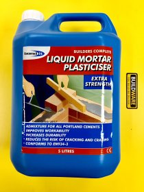 Plastifikatorius LIQUID Mortar Plasticiser, 5l