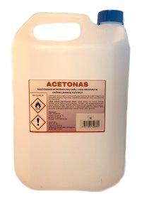 Acetonas ACETONAS 5 l