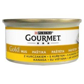 Paštetas katėms GOURMET Gold su vištiena, 85g