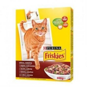 Sausas ėdalas katėms FRISKIES 300 g