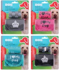 Gyvūnų ekskrementų maišelis ir maišelių dėklas