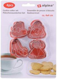 Sausainių formelių rinkinys ALPINA