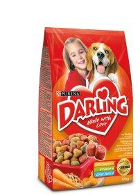 Sausas šunų ėdalas DARLING 10 kg