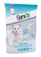 Kraikas katėms SANICAT Silica Gel, 3,8 l ,