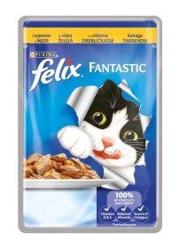Konservuotas ėdalas katėms FELIX Fantastic, 100 g