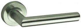 Durų rankena  CARRE 6014381/60/2, DIN standartas Nerūdijančio plieno spalvos
