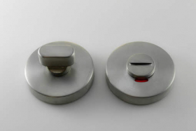 Apyraktė durų MUZ-50-WC, nerūdijantis plienas, 5x5 mm, tinka su MRO-41 rankena