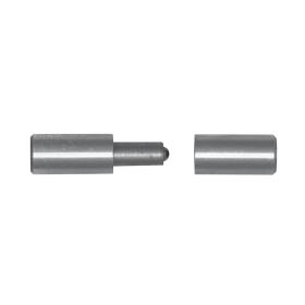 Vartų guolinis vyris DMX, ZTK 16 16x65 mm, 8402, virinamas
