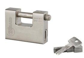 Pakabinama spyna THIRARD, Thor 94 mm, 5 raktai, stačiak., 293832