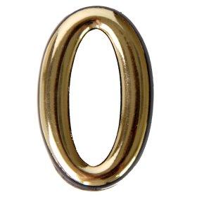 Numeriukas 0   50 - 52 mm Geltonos spalvos, klijuojamas