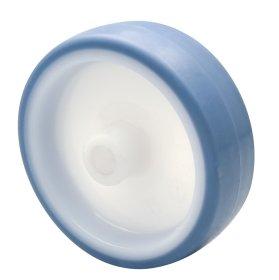 Atsarginis ratukas ECO, d-75 mm, termoplastiko guma, minkštas, apkrova - 60kg
