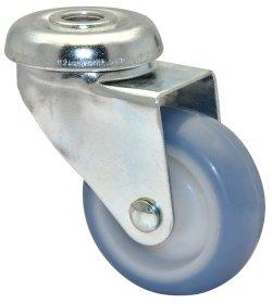 Pasukamas ratukas ECO, d-75 mm, termoplastiko guma, apkrova - 50 kg.