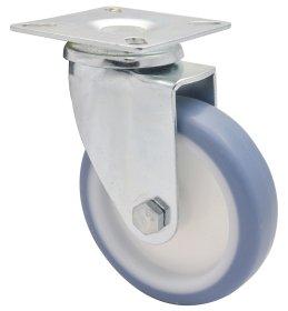 Pasukamas ratukas d-100 mm, termoplastiko guma, apkrova - 75 kg.
