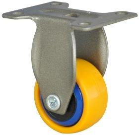 Fiksuotas ratukas, 3C-Serija, geltonas, minkštas, apkrova - 12 kg.