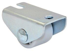 Fiksuotas ratukas d-15 mm, cinkuotas, minkštas, apkrova - 20 kg.