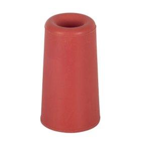 Durų atrama, H75 D40mm, raudonos sp., prisukama, 1vnt., SUKI
