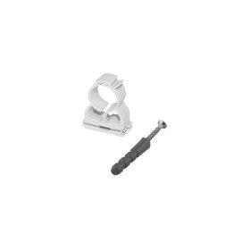Plastikinis, užspaudžiamas universalus vamzdžio laikiklis FX d16,5-20mm, (5 vnt.)