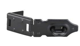 Lankstas su užraktu THIRARD, 100 mm - juodai lakuota, 193061