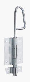 Durų fiksatorius THIRARD, 12 x 200 mm, cinkuotas plienas, 493110