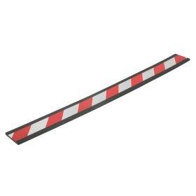Apsauginė juosta FIX-O-MOLL, klijuojama, 85mm x 90cm, raud/balta sp.