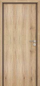 Laminuotų durų varčia INVADO NORMA DECOR 1 Matmenys 844 x 2040 x 40 mm, natūralaus ąžuolo spalvos, kairinės, B587, UŽS