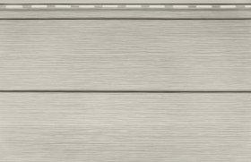 PVC dailylentė SV05 SIDING VOX Matmenys 0,250 x 3,85 m, skirta fasadui, sidabrinio kedro spalvos, 1 lentelė - 0,9625 m2