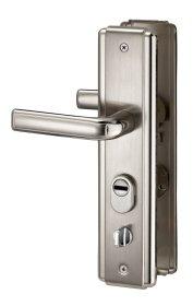 Durų rankena THIRARD, kiniškoms durims 68mm dešinė, sidabro sp., 593538