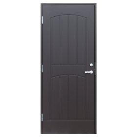 Durys GRACIA M9 Matmenys 900 x 2100 mm, dešininės, rudos spalvos, be rankenų ir cilindro UŽS