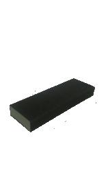Kempinė šlifavimui 225x76x25 P80 AO keturpusė, pilka