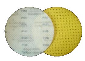 Glaisto šlifavimo diskas Superpad, P150, 225 mm