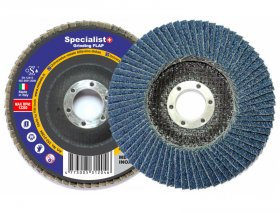 Žiedlapinis šlifavimo diskas SPECIALIST, 125 mm, cirkonis, Nr. 120