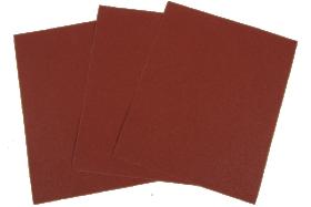 Šlifavimo popierius medžiaginiu pagrindu  P40  230 x 280 mm.
