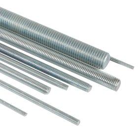 Sriegtas strypas 10 x 1000 mm XIDO DIN975, cinkuotas