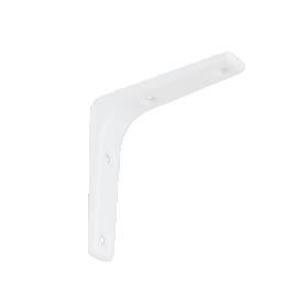 Lentynos laikiklis VELANO, WSM 100 BI 100x100 mm, baltos spalvos, DMX 5157