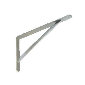 Lentynos laikiklis VELANO, WSWP 400 ZN 400x250x4,0 mm, DMX 5197