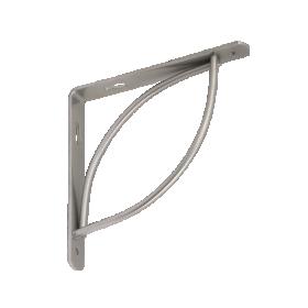 Lentynos laikiklis VELANO, TRAMP 150 SRMT 150x150 mm, sidabro spalvos, DMX 5671