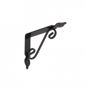 Lentynos laikiklis VELANO, WOZ 140 HC 140x110 mm, juodos spalvos, DMX 5920