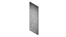 Plokštelė 80 x 200 x 2,0 mm Xido 1 vnt.