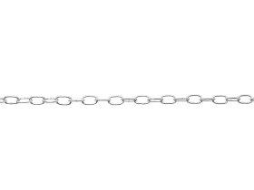 Laikrodžio grandinė, U2/1,4mm, nikeliuotas plienas