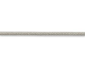Lynas, padengtas polivinilchloridu, 3,0 × 5mm, plieninis, galvanizuotas cinku