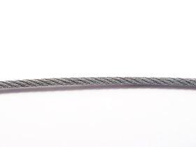 Lynas, 4mm, plieninis, galvanizuotas cinku