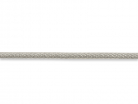 Vielinis lynas 1,5 × 3mm, dengtas PVC,  apie 10m žiedais, galvanizuotas plienas, cinkuotas