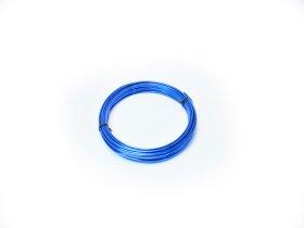 Aliuminio viela, 2,0mm × 100g (ca. 12m), mėlynos spalvos