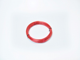 Aliuminio viela 2,0mm × 100g (ca. 12m), raudonos spalvos