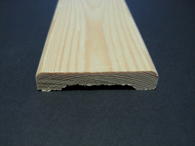Apdailos juostelė, matmenys 12 x 56 x 2400 mm