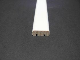 Apdailos juostelė, matmenys 10 x 30 x 2400 mm, baltos spalvos