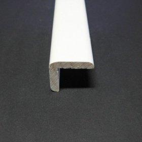 Išorinis kampas, matmenys 45 x 45 x 2700 mm, baltos spalvos