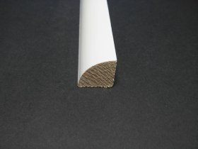 Stiklajuostė, matmenys 11 x 11 x 2400 mm, baltos spalvos